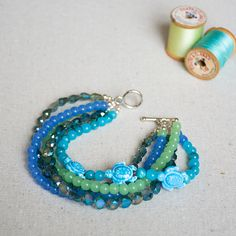 Nicole's Bead Shop Turtle Love Bracelet #jewelry #DIY