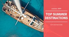 Where to hire a yacht in summer Find out what the most popular yacht charter destinations are in the world when it comes to renting a boat in hot summer days. Mykonos, Santorini, Greece Cruise, Character Home, Medieval Town, Top Destinations, Turquoise Water, Archaeological Site, World Heritage Sites
