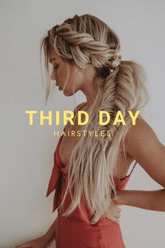 We've all been there, when you just can't find time in your schedule to wash your hair. Whether you're busy preparing for your next holiday party or running errands, we have the perfect hairstyles for third day hair. Here are a few of our favorites: Greasy Hair Hairstyles, Easy Hairstyles, Running Hairstyles, Three Days, Hair Day, Hair Goals, Hair Extensions, Hair Inspiration, Your Hair