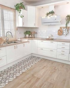 """Modern Kitchen Design Ideas,Amazing Kitchen Decor Ideas We love the delicate tones of this pretty kitchen, do you? 😍⠀⠀⠀⠀⠀⠀⠀⠀⠀ 🛍 Get inspired by our sale """"A trendy cuisine"""" by cli. Kitchen Decor, Kitchen Inspirations, Home Decor Store, Home Decor Kitchen, House Interior, Home Kitchens, Cool Kitchens, Kitchen Remodel, Modern Kitchen Design"""