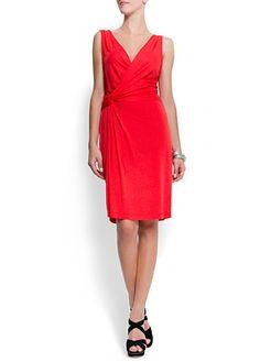 Red dress by Mango