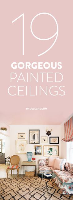 Amazing 19 Times a Painted Ceiling Changed Everything Beautiful - Beautiful cut in ceiling paint Plan