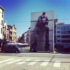 Pic by @This Is Antwerp Walter Van Beirendonck #Antwerp
