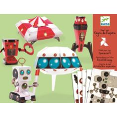 Spacecraft Paper Toys - MySmallWorld.co.uk