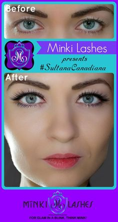 100% handmade and cruelty-free #SultanaCanadiana is PERFECT FOR beauties who want an easy cat eye effect but may not be particularly comfortable with drawing that perfect flirty flick in the outer corners of the eyes (it does take some practice!). These winged eyelashes do the job for you! | #eyes #eyemakeup #FalseLashes #lashes #FakeLashes #FalseEyelashes #eyelashes #beauty #Minkilashes #makeup #CatEye #Canada #Toronto #USA #handmade #crueltyfree #royalty #eyeliner #Before #After