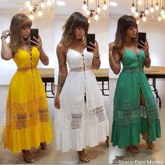 "𝘽𝙮 𝙒𝙖𝙣𝙙𝙚𝙧𝙡𝙚𝙞𝙖 𝙋𝙚𝙧𝙚𝙞𝙧𝙖 on Instagram: ""Conheçam a loja @offerdesignermoda . . . Só na loja @offerdesignermoda @offerdesignermoda @offerdesignermoda . . . . #atacado…"" Club Dresses, Casual Dresses, Summer Dresses, White Frock, Moda Fashion, The Dress, My Wardrobe, Frocks, Lingerie"