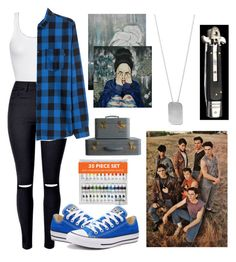"""Moving and meeting the gang"" by xgrunge-princessx on Polyvore featuring American Vintage, Converse and BillyTheTree"