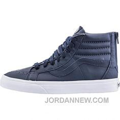 http://www.jordannew.com/vans-premium-leather-sk8hi-reissue-zip-mens-dress-blues-true-white-cheap-to-buy.html VANS PREMIUM LEATHER SK8HI REISSUE ZIP (MENS) - DRESS BLUES/TRUE WHITE CHEAP TO BUY Only $80.40 , Free Shipping!