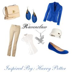 """Ravenclaw"" by pheonix-sparks on Polyvore"