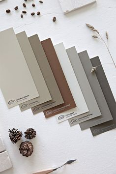RHYTHM OF LIFE Earlier this week I was invited to the launch of Jotun´s LADY Color Chart 2018 - Rhythm of Life. Paint Colors For Living Room, Room Colors, Wall Colors, House Colors, Colour Pallete, Colour Schemes, Jotun Paint, Jotun Lady, Comfort Gray