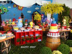 HAPPY FEST: A GALINHA PINTADINHA DA MANUELA