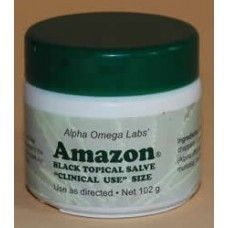 Healthy skin with: Amazon Black Topical Salve Formerly sold as Cansema