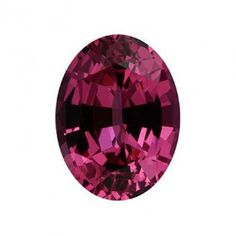 Oval shaped spinel, carat: 1.24 ct, colour: vibrant slightlty purplish pink