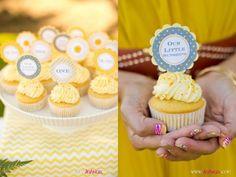 Festa You are my sunshine. Linda para um tema de chá de bebê ou primeiro aniversário!