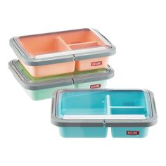 29 Containers Every Millennial Needs & Where To Buy Them #refinery29  http://www.refinery29.com/best-food-containers#slide-17  3-Compartment Lunch Bento BoxThese reusable and portable bento boxes are packed-lunch perfection. ...