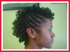 Hairstyles with Curls and Twists