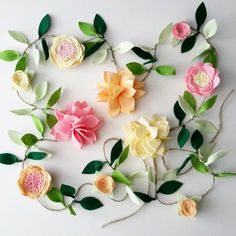 Our lovely handmade Felt Flower garland is a great way to decorate for wedding, birthday parties, photo shoots, flat lays, baby showers or a little ones nursery. This beautiful Felt Flower Garland is reach and full, with pretty reach blooms positioned nicely close to each other. The vine on the photo is 8ft long. 6 feet of flowers and leaves and 1 ft on each side for hanging. {D E T A I L S } * Flowers measure approx 2.5 to 4 in diameter. * Thick Twine (hemp) * Premium quality Wool blend…