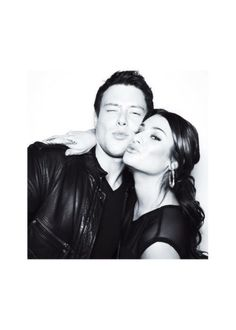 Cory Monteith and Lea Michele - still so sad at his passing RIP Cory