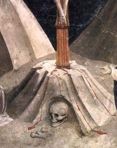 Devious detail from The Crucifixion. by Fra Angelico (Guido di Pietro) (Italian, Vicchio di Mugello ca. 1395–1455 Rome). Date- ca. 1420–23; Medium- Tempera on wood