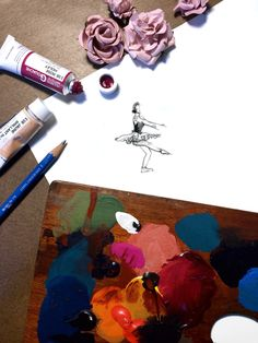 Ballerina_Tumblr ('Dancing Day Dreams' via Paper Fashion blog)