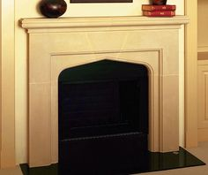 If your living space could use an upgrade, but you're not looking to remodel the entire room, why not start with a Fairmount cast stone mantel.