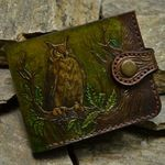 Etsy :: Your place to buy and sell all things handmade Leather Tooling, Tooled Leather, Passport Holders, Slim Wallet, Real Leather, Etsy Seller, Buy And Sell, Leather Wallets, Creative