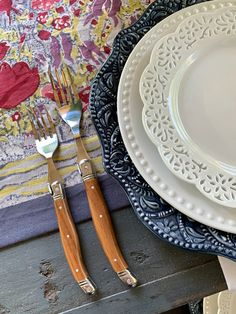 How To Set A Simple French Country Summer Table