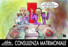 """striscia """"L'Evoluzionista"""" Consulenza Matrimoniale"""