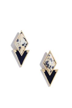 Madewell Shapedrop Earrings, $24, available at Madewell.