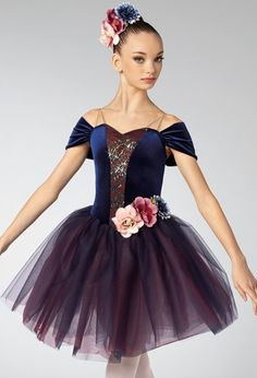 Weissman® Dance Costumes Ballet, Sweetheart Dress, Stretch Lace, Dance Outfits, Shoulder Sleeve, Dance Wear, Bodice, Tulle, Sequins