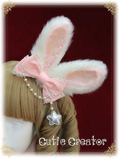Harajuku Fashion, Kawaii Fashion, Lolita Fashion, Cute Fashion, Kawaii Accessories, Girls Hair Accessories, Fashion Accessories, Kawaii Hairstyles, Headband Hairstyles