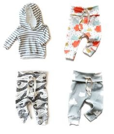 Babysprouts organic clothing for babies - super cute fabrics in hoodies and leggings