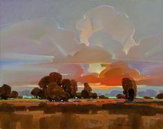 "Contemporary Painting - ""A Brighter Shade of Dusk"" (Original Art from Mac Stevenson)"