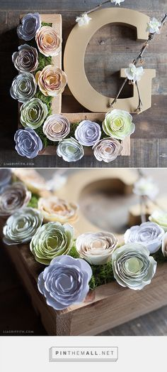 DIY Ranunculus Flowers. More ideas, inspiration and DIY projects at www.liagriffith.com
