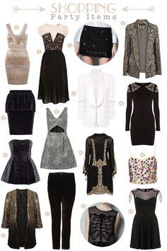 Vestidos propuestos por Collage vintage