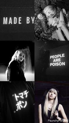 Yoo Lisa Tumblr edit BLACKPINK