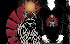 """Egyptian Amulet"" hoodie"