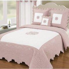 lit deux places rose