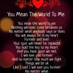 You Mean the World to Me Poems for Her & Him