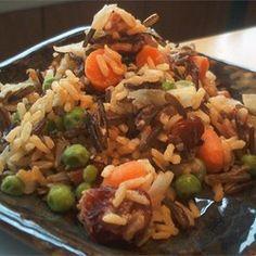 Cashew Raisin Rice Pilaf - Allrecipes.com