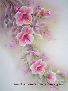 free one stroke painting patterns - Music Search Engine at . Art Floral, Fabric Painting, Painting & Drawing, Fabric Paint Designs, Tole Painting Patterns, One Stroke Painting, China Painting, Painting Techniques, Art Tutorials