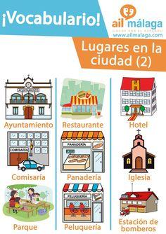 vocabulario lugares ciudad