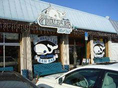 Whales Rib Bar & Grill in Deerfield Beach, FLA. Try the fried Mahi Mahi sandwich