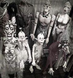 Ronnie Burkett marionettes