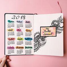 bullet journal 2018