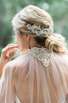 Bridal Cape Wedding Cape Lace Rhinestone Cape Bridal Veil
