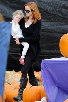 Celebs hit the pumpkin patch