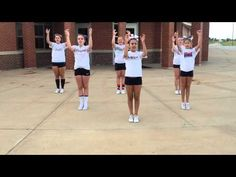 Youth Cheer - F I G H T - YouTube Cheerleading Chants, Cheer Tryouts, Cheer Coaches, Cheer Stunts, Cheers For Cheerleading, Cheerleading Workouts, Basketball Cheers, Cheer Practice Outfits, Cheer Dance Routines