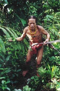 Mentawai man from Siberut island. Sumatra,  Indonesia. Spent 10 days on the island living with the Mentawai. A wonderful experience, a beautiful, unspoiled people.