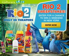 Rio 2 Sweepstakes at www.youravon.com/chaidez